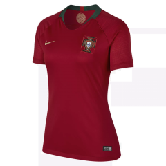 2018 World Cup Portugal Home Red Women's Soccer Shirt