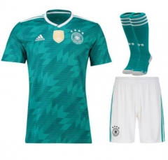 Adult Germany Away Soccer Jersey Full Kits 2018 ,Jersey+Shorts+Sock