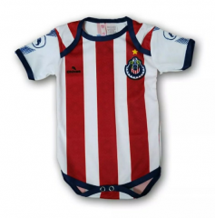 Baby Chivas Home Red White Infant Crawl Suit 2018