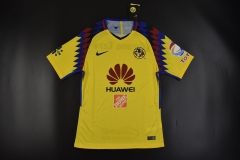 Player Version 2018 Club America Third Away Soccer Jersey Shirts