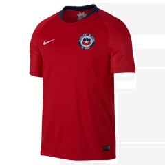 Chile Home Soccer Jersey Shirts 2018