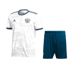 2018 Youth World Cup Russia Away White Soccer Uniform