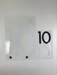 2018 World Cup France #10 Mbappe #11 Dembele Heat Transfer