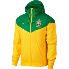 Brazil National Team Windbreaker Full-Zip Jakcet 2018