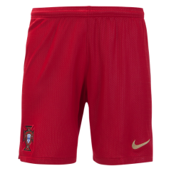 2018 Men's Portugal Home Red Short