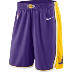 Los Angeles lakers Icon Swingman Short - Purple/Yellow