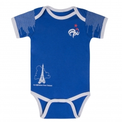 Baby France Blue Infant Onesie