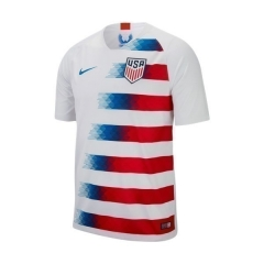 2018 USA Home Soccer Jersey Shirt [Picture Version]