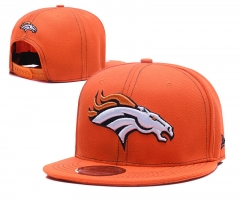 Men's Denver Broncos Hat Velcro Back Team  NFL Adjustable Cap