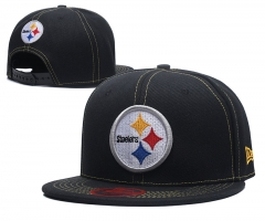 New Era NFL Team Steelers  Classic Stretch Fitted Cap