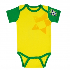 Baby Brazil Yellow Infant Onesie