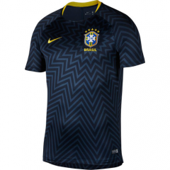 2018 Brazil Blue Training Short Shirt Jersey