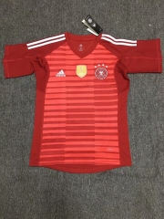 Germany Red World Cup 2018 Goalkeeper Jersey