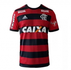 Flamengo Home All Sponsors Soceer Jersey 2018-2019