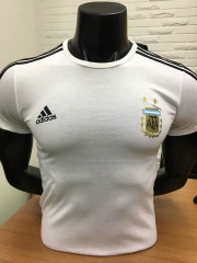 2018 World Cup Argentina White Cotton T-shirt