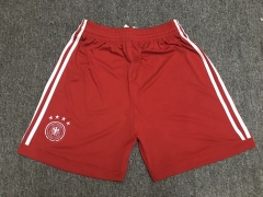 Germany Red Goalkeeper Short Pants 2018