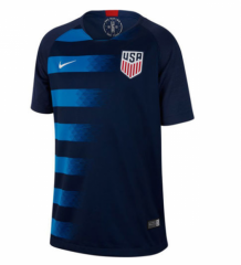 2018 USA Away Soccer Jersey Shirt [Picture Version]