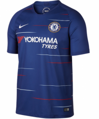 Chelsea Home Blue Soceer Jersey 2018-2019