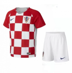 2018 World Cup Croatia Home Red Soccer Uniform