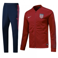USA Red N98 Jacket Suit 2018