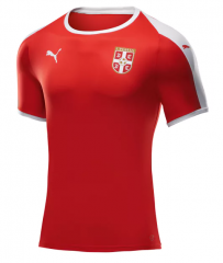 2018 World Cup Serbia Home Soccer Jersey Shirts
