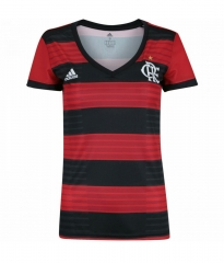 2018 Flamengo Home Red Women's Soccer Jersey