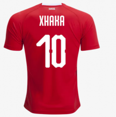 2018 Switzerland #10 XHAKA Soccer Jersey Shirt