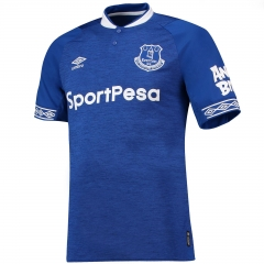 2018-2019 EVERTON Home Soccer Jersey Shirt