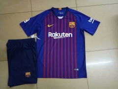 Barcelona Home Uniform 2018-2019 ,Jersey+Shorts