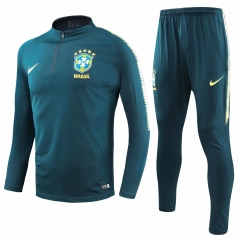 Brazil Green Training Suit 2018