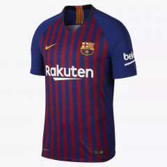 Player Version 2018-2019 Barcelona Home Soccer Jersey Shirts
