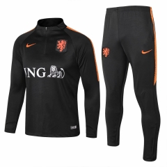 Holland Black Training Suit 2018-2019