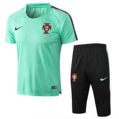 Portugal Green Short Training Suit 2018