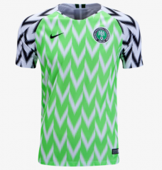 Nigeria Home World Cup 2018  Green Soccer Jersey