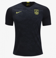 China Away Black Dragon Soccer Jersey 2018-2019