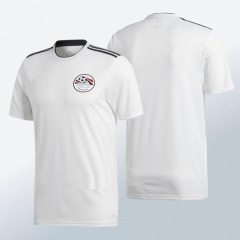 2018 World Cup Egypt Away White Soccer Jersey Shirt