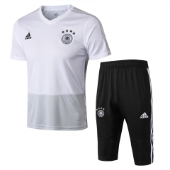 Germany White Short Training Suit 2018