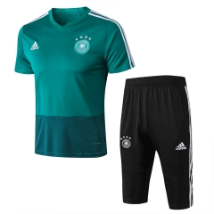 Germany Green Short Training Suit 2018