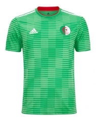 Algeria Away Green Soccer Jersey Shirts 2018