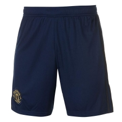 2018-2019 Men's Manchester United Third Away Navy Shorts
