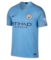 Manchester City Home Soccer Jersey 2018-2019