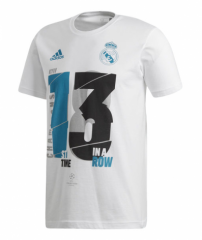 2018-2019 Real Madrid UCL Champions T Shirt