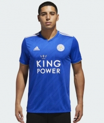 2018-2019 Leicester City Home Jersey Shirt