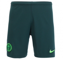 2018 World Cup Men's Nigeria Away Green Shorts