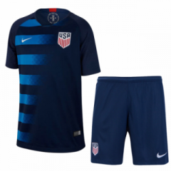 USA Away Uniform 2018-2019 ,Jersey+Shorts