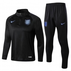 Youth England Black Training Suit 2018