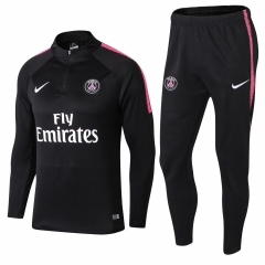 Youth Paris Black Training Suit 2018-2019
