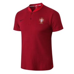 Portugal Red Polo 2018-2019
