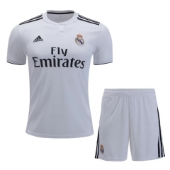 Real Madrid Home Uniform 2018-2019 ,Jersey+Shorts