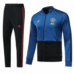 Manchester United Blue N98 Jacket Suit 2018